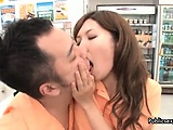 Cute asian babe gets horny making out part3
