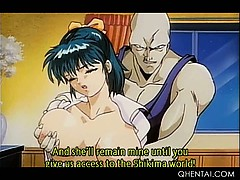 Big titted hentai girl turned into a monster gets fucked