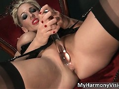 Dirty Blond Babe Rebecca More Rubbing Part1