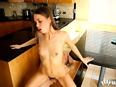 doggy-on-kitchen-table-riley-reid