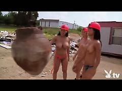 Crazy And Hot Demolition Girls!