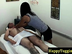Asian Masseur Indulges His Horny Client