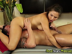 Asian Massage Babe Licked