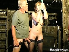 Sex Victim Blonde Is One Mature Slut