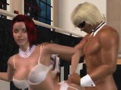 handjob-in-lingerie