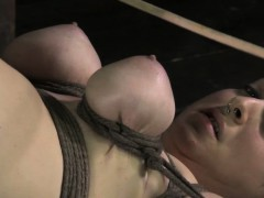 Ruped Up Sub Punished With Cane By Dyke