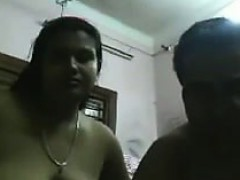 Amateur Indian Couple Being A Tease