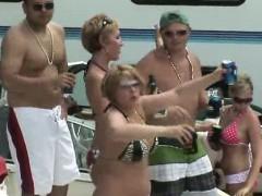 Party Teens With Scandalous Public Behaviour