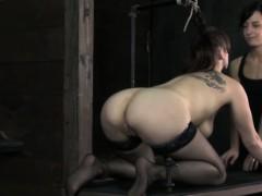 Nipple Tortured Skank Learning Obedience