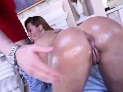 Klara Gold Takes Cum In Her Ass