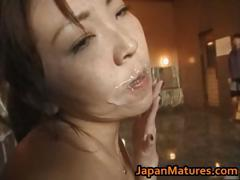 Japanese Babe In Hot Gangbang Action Part2