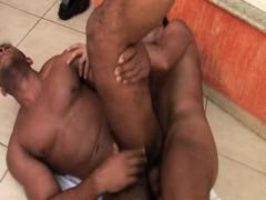 Gay Latino Men Sizzling Bareback Anal Sex