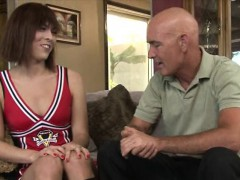 Cheerleading Teen Tranny Kendra Sinclaire Anal Pounded