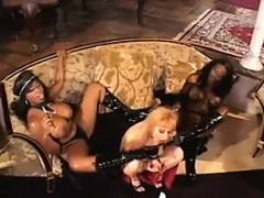 Black Bitches In An Interracial Lesbian 3some