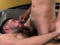Dudes Beard Cum Drenched