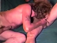Mature Redneck Cums During Anal