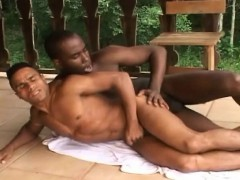 Two Horny Gays Have A Massive Fuck Outdoor