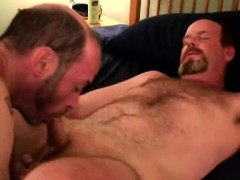 Hairy Gaystraight Dilf Sucked Off