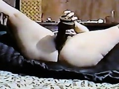 Bbw Masturbating With A Big Black Dildo