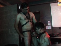 Hot assed Slave boy Deepthroated By His Old Master