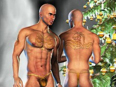 3d Straight Muscle Boys Go Gay!
