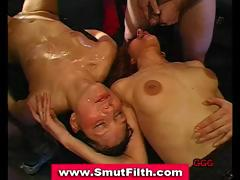 Bukkake Sluts Suck Fuck And Facial