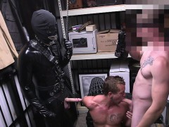 Horny Hunks Ass Holed In The Shop