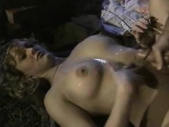 Julianne James, Tracey Adams, Aja In Vintage Porn Scene