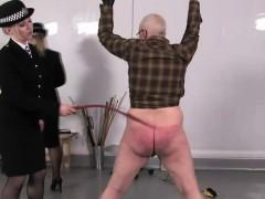 police-femdoms-torment-speadeagle-sub