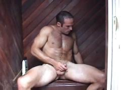 Str8, Sexy, Muscular, Big Hard Bubble Butt, Hairy First