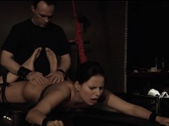 stuck-in-ropes-claudia-rossi-getting-the-dick-in-her-mouth