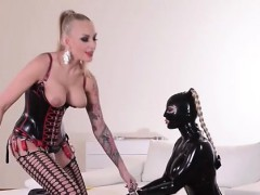 Latex And Daintily Hot Fetish Actions