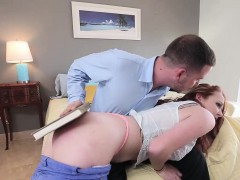 Paddled Teen Fingered