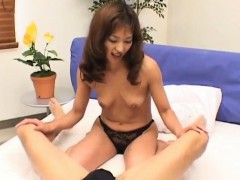 Asian Mature Enjoys Getting A Hardcore Fuck From Her Horny B