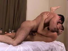 Mature Muscular Masseur Plows Hunk Ass