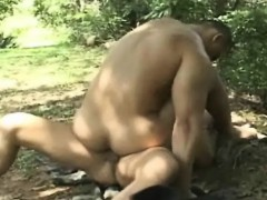 Latin Gay Extreme Outdoor Barebacking Adventure