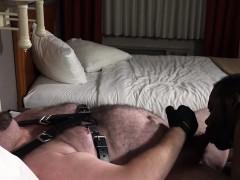 a-cub-and-his-big-black-pup