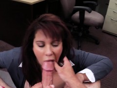 Bigtitted Pawn Amateur Fucked Out The Back
