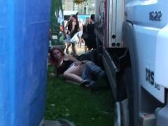 Czech Snooper Public Sex During Concert