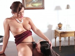 She Licks Pussy To Keep Job