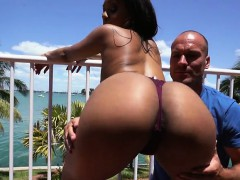 Curvaceous Babe Katt Garcia Gets Her Booty Fondled