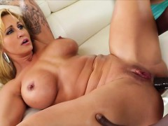 Alluring and Big Ass Ryan Conner Gets Her Holes Fucked Hard