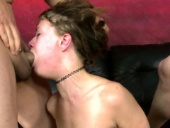 Tegan Has Her Face Fucked Right Off