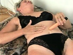 Grandma Plays With Her Small Fuck Toy