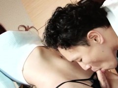 Vers Jap Tgirl Gets Her Cock Pleasured And Creampied