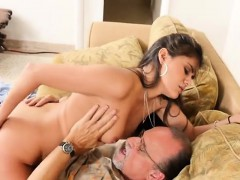 Teen Jeleana Marie Gets Shagged By Rich Old Guy