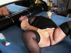 Kum German Mature Masturbation