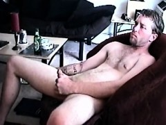 Straight Boy Johnny Blows His Load