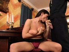 Mom Fucks Son Before The Party Starts And The