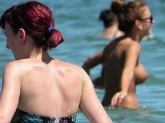 sexy amateurs topless voyeur beach – sexy huge tits babes